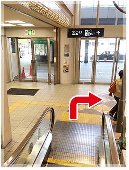 阪急伊丹駅からのアクセス写真2